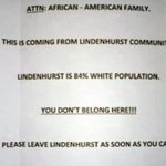 """A family in New York received a racist letter telling them, """"you dont belong here."""" http://t.co/GlVvRrq3pS http://t.co/UpN8BsTHk9"""