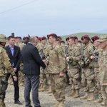 Georgian President Giorgi Margvelashvili, awarded US and Georgian soldiers for exceptional performance #NoblePartner http://t.co/7okHV0FLFA