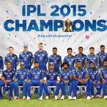 Duniya Hila Denge! Comfortable victory for #ApunKaSuperstar(s) #IPL champions 2015! Like a boss! http://t.co/1zrCTeoXHf