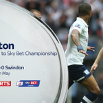 Full-time: Preston 4 - 0 Swindon. A Jermaine Beckford hat-trick blows Swindon away and Preston are promoted! #FL72 http://t.co/gndrPFcVEJ