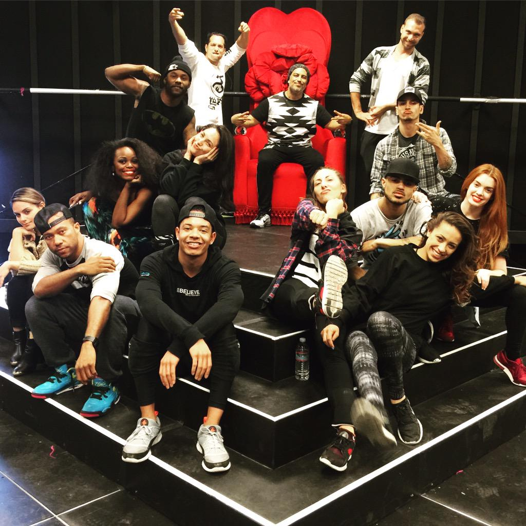 Holiday Rehearsals with @jlo @jlodancers for Morocco. #LetsGo http://t.co/GUD024f8Wz