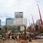 """""""@Jolanlelieveld Uniek schouwspel op Schouwburgplein tijdens @Operadagen #Rotterdam http://t.co/7mZ25v00qP"""""""