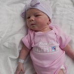 Luck Be a Lady Tonight! This lil lady is cheering for a win for our partner @NYRangers #NYR #RANGERSTOWN @TheGarden http://t.co/JmerPNQtAF