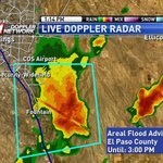 Flood Advisory from SE CO Springs to S of Fountain, heavy rain causing minor flooding. Turn Around, Dont Drown #cowx http://t.co/R5LsXSOI0r