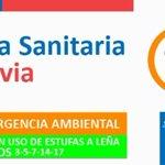 [ALERTA SANITARIA 2015] Mañana lunes 25 de mayo SI hay Preemergencia por calidad del aire en #Valdiviacl. http://t.co/7PuBO8xbOP