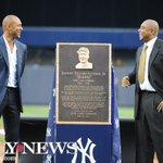 Yankees honor Bernie Williams while Derek Jeter returns to stadium http://t.co/Lvt5qhOy12 http://t.co/7H2QciZXc9