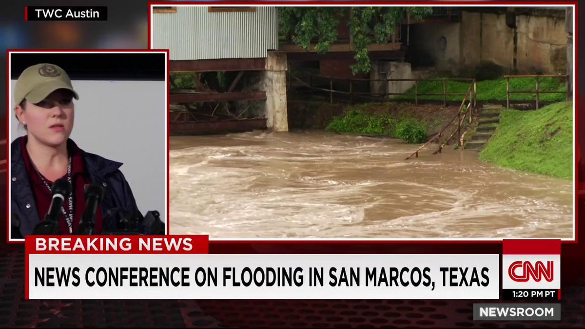 An estimated 300 homes flooded in San Marcos, Texas, after record rainfall, official says. http://t.co/rBrXCrBBwH
