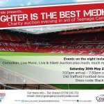 Last chance to join us @ #laughterbestmedicine @ #MUFC #manchester £50 per ticket/ table of 10 £450 #TCT #thumbsup http://t.co/LRPSdlfCC8