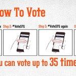 While we wait out this delay...relax and #VoteSFG VOTE: http://t.co/Fq7SJx8ufl #ASGWorthy #SFGiants http://t.co/4uBTff3tJq