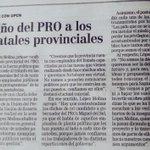 Hoy también en @lacapital: Guiño del PRO a los empleados provinciales @MiguelDelSel @jrboasso @picardimarcelo http://t.co/AgA9XARW5h