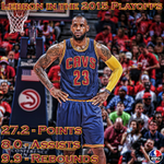 The only player in NBA history to average what LeBron has this postseason for entire playoffs is Oscar Robertson. http://t.co/nWF1nHwu3e