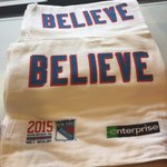Tonights #NYR rally towels for fans @TheGarden courtesy of @Enterprise http://t.co/vBPEGSO4ht