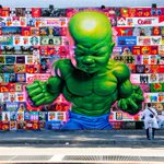 Finally got to see the Baby Hulk mural by Ron English on Houston Street, #NYC. #ThisIsNewYorkCity @NYCDailyPics http://t.co/eT5AkiTGha