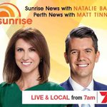 #Perth, were live and local with your #Perth News from 7am. @sunriseon7 #sun7 http://t.co/vZzISYzcZi