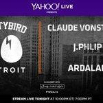 TONIGHT at 10:00pm ET, @Ardalann, @jphlip & @vonstroke rock #YahooLive: https://t.co/HiSBfeCvfG  #DIRTYBIRD10Detroit http://t.co/0ON1MGayn1