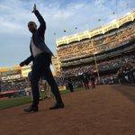 Derek Jeter is on hand for #BernieDay celebrations! http://t.co/U9RU53DUAy