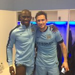 With Frank Lampard : a Legend ! All the best in #NYCFC !! http://t.co/di92smjIlI