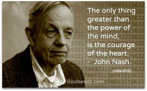 #JohnNash, #ABeautifulMind and a courageous heart. http://t.co/igcrGgRk4X