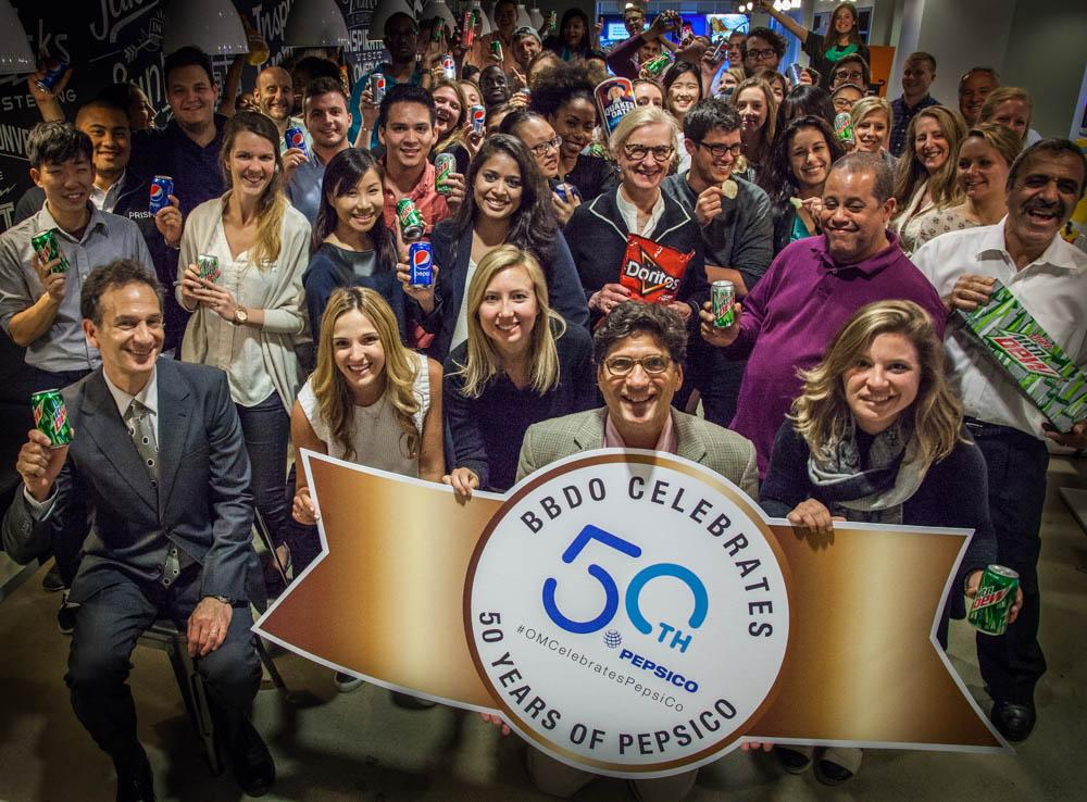 Celebrating the 50th anniversary of @Pepsi & @Fritolay coming together to create @PepsiCo #OMCelebratesPepsiCo http://t.co/XTKrs3J97G