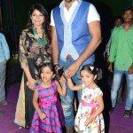 RT @galattadotcom: #VishnuManchu #Viranica & daughters at #Dynamite Audio Launch! http://t.co/YBvk3KDeiu @iVishnuManchu @vinimanchu