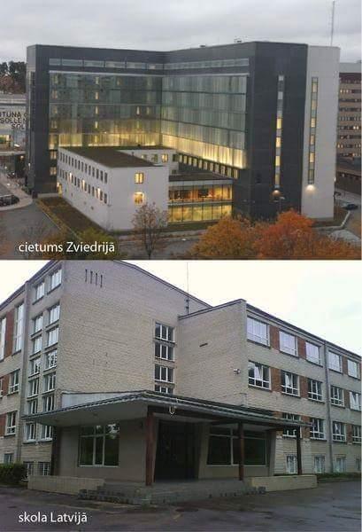 Cietums Zviedrijā / skola Latvijā http://t.co/NSikTdYxix