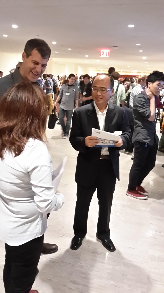 Our CEO HP Jin just visited us at our booth @sotmus. Come join him and check out some cool OSM technology. #sotmus http://t.co/2k8OK1CJVO