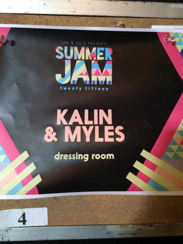 Welcome to Summer Jam @KalinAndMyles who's ready for their set?! #SJ15Boston http://t.co/bHFlkp0nv0