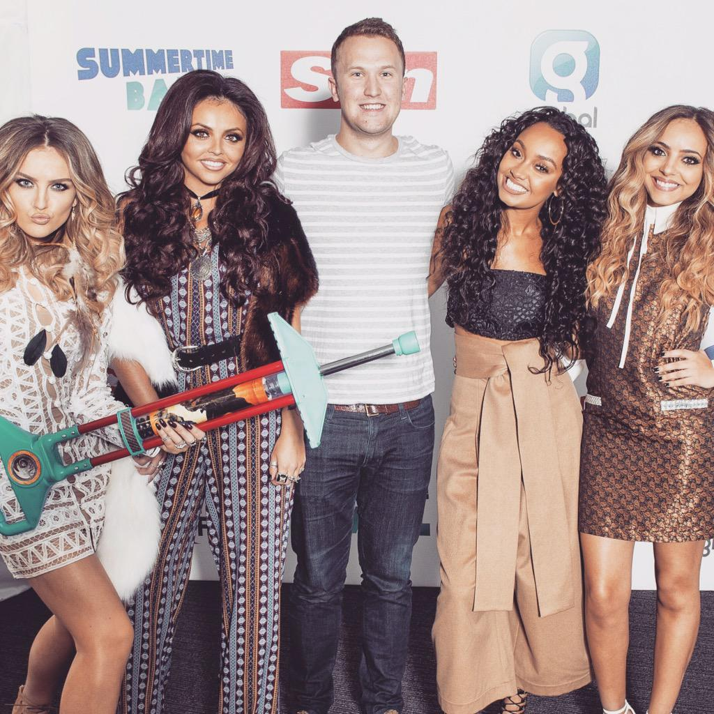The lovely (as always) @LittleMix in the Biz on Sunday backstage room at #CapitalSTB: http://t.co/xmOHQVC1eP