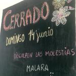RT @barmalara: Disculpen pero el 14 Junio @barmalara permanecerá cerrado. Ese día nos toca a nosotros brindar con @Calle13Oficial! http://t…