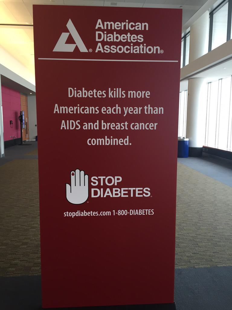As 7th leading cause of death, we need to advocate for solutions, patients and better treatments #2015ADA http://t.co/ua6TCmVsdH