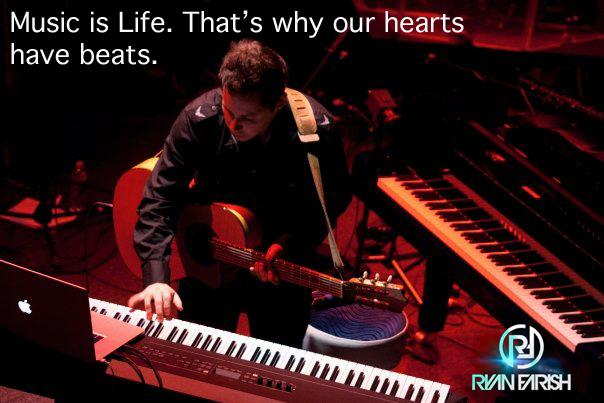 Music is Life. That's why our hearts have beats. http://t.co/KvLybBjeeH