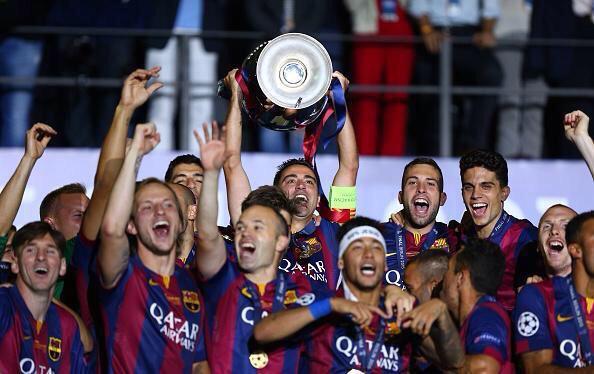 De tant en tant, el futbol és just. La història de Xavi al Barça no podia tenir un millor final #Champions #mite http://t.co/B40WgXRvsC