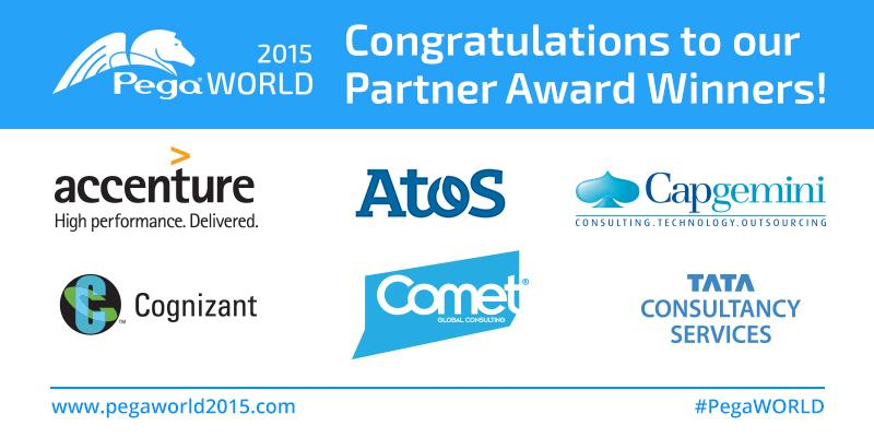 Congratulations to our partner award winners! #PegaWORLD http://t.co/1CX4Siqsfy http://t.co/VQR2hvBjVv