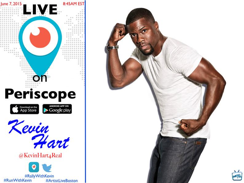 Boston Go run a 5k with my man @KevinHart4real tomorrow morning #RallyWithKevin http://t.co/64hnlv9v9y