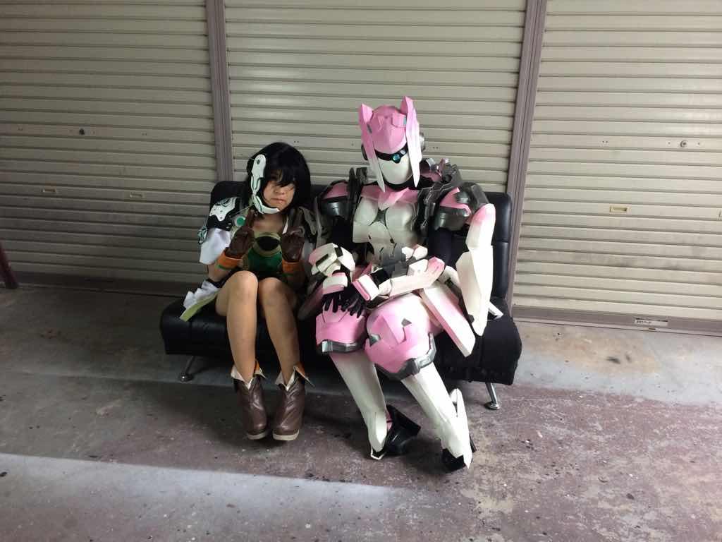 チヒロと雷花ちゃん http://t.co/77NDk2HstV