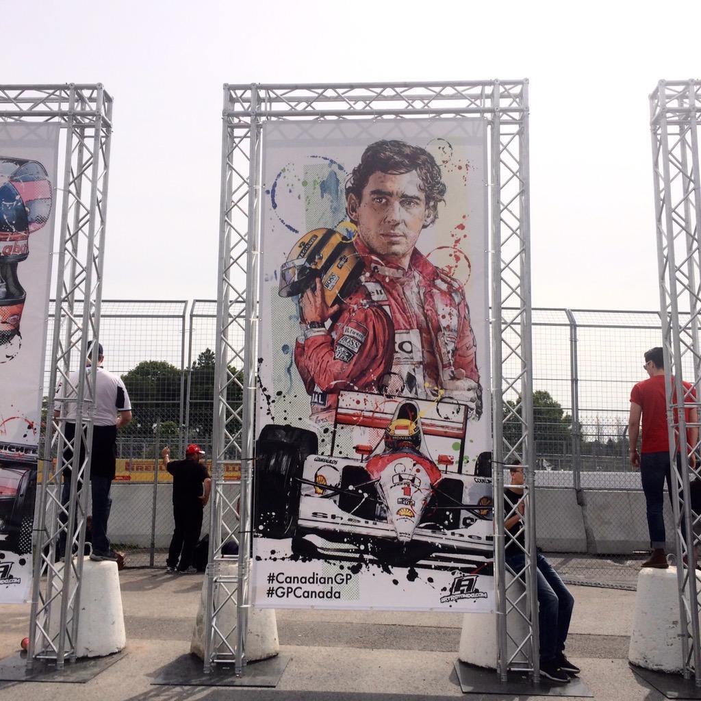 The legends! #CanadianGP #GPCanada #MontrealGrandPrix #GrandPrixMTL #formulaone #bepartoftherace http://t.co/4YzFSGyRaK