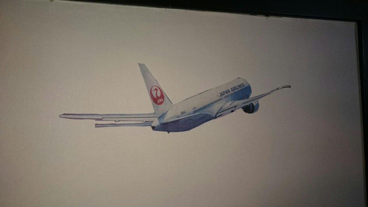 うちのじいさんがなぜか飛行機を新聞から切り抜いてふすまに貼っててめっちゃ笑った http://t.co/gid2tSpsjM