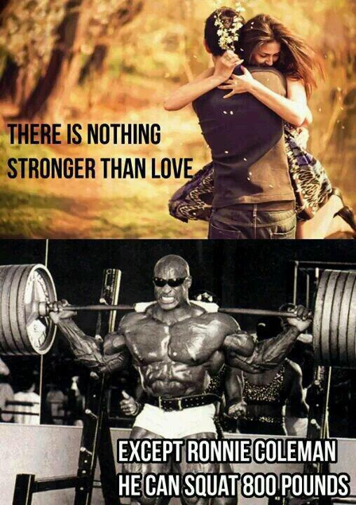 Ain't nothing stronger than love EXCEPT… http://t.co/c0lQe3qwel