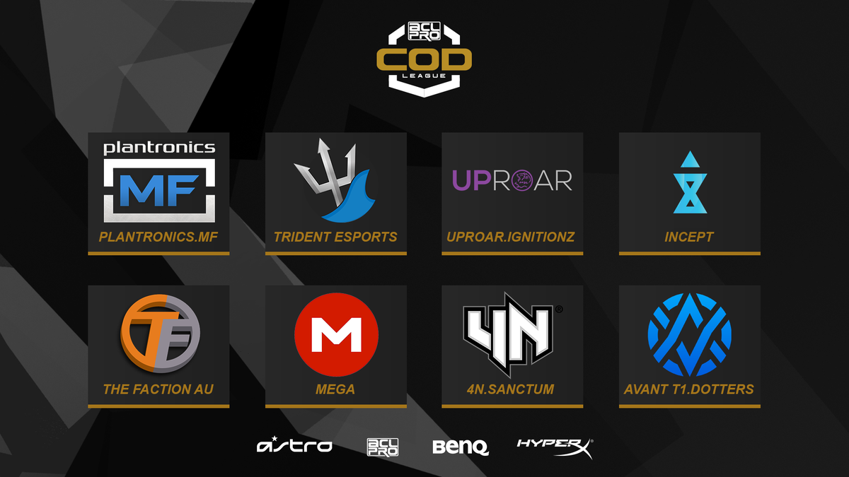 Congratulations to all eight teams who have qualified for our #ACLCoDLeague. Season one starts on June 16th! http://t.co/DSb5o7t6GH