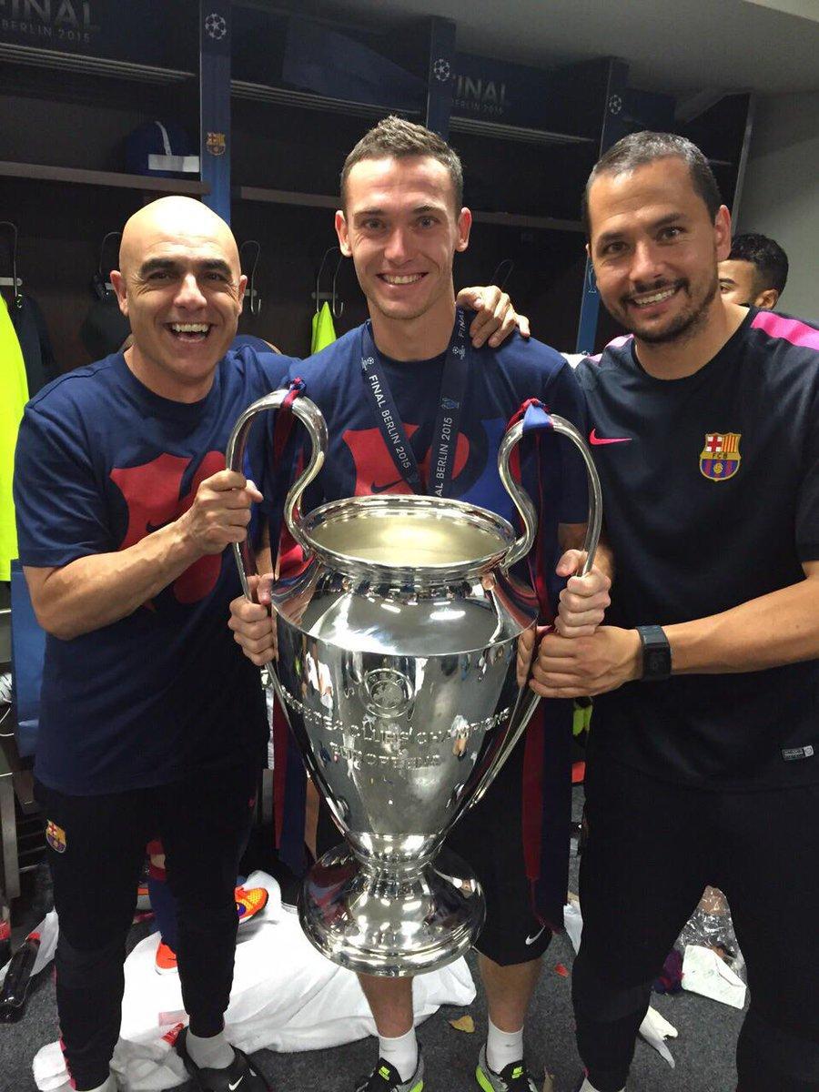 Visca el Barça! #treble #fcb http://t.co/7vrl8ZKnDP