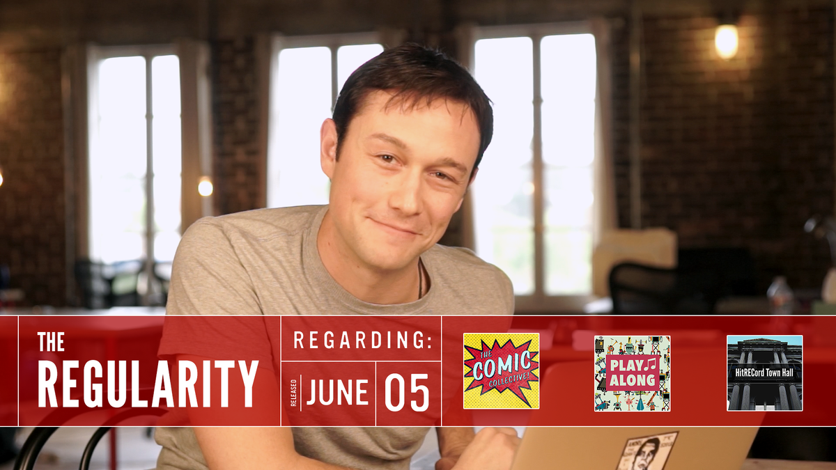 RT @hitRECord  ICYMI: Check out the latest #Regularity all about comics, music + writing : http://t.co/QvsNtNfbgU http://t.co/frF5EBnQWm