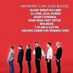 RT @BloodDonorsIn: #Bhilwara blood donation camp on 21st June '15 http://t.co/DfMZdp68kz