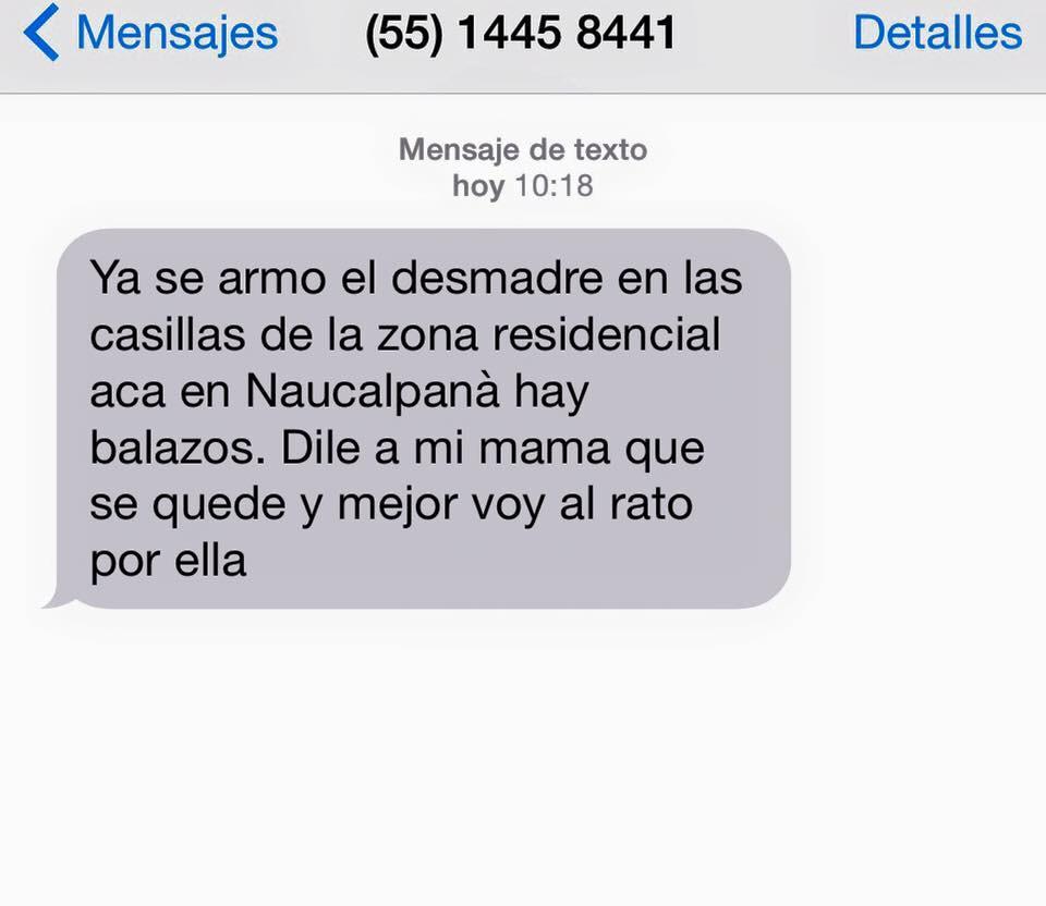 Aguas con estos mensajes!! Los están mandando a ciudadanos para no ir a votar! @CdSatelite #Eleccciones2015 http://t.co/o9x8qTc75R