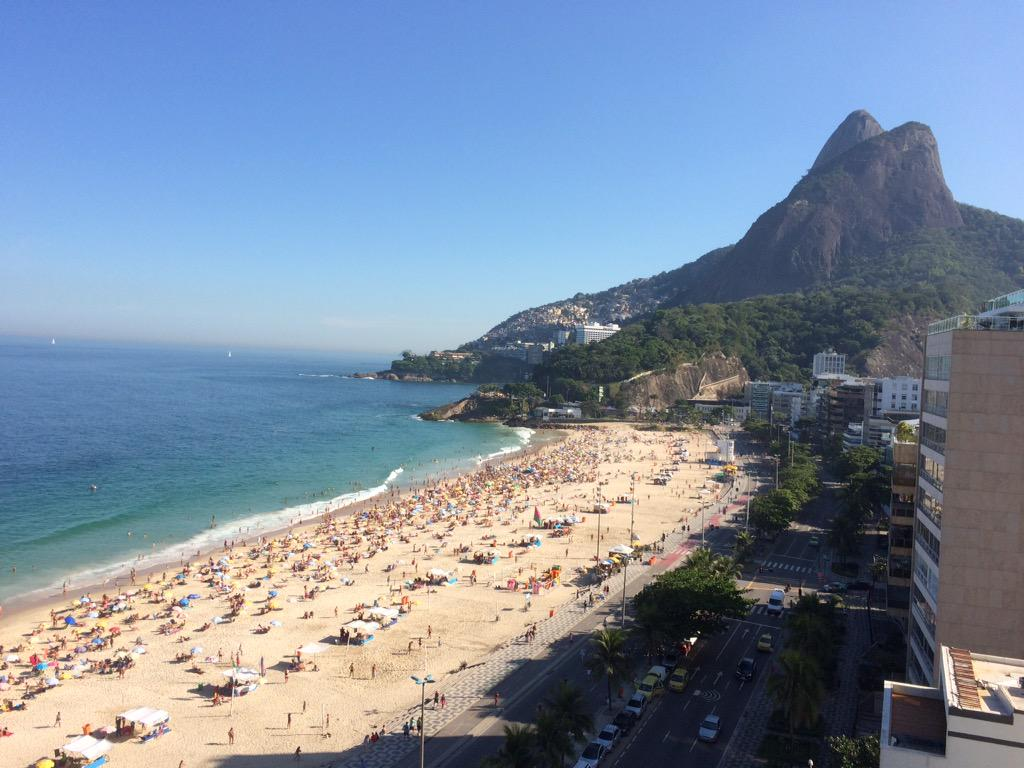 Hello RIO! #bsbinBrazil #InAWorldLikeThisSAmerica http://t.co/lQuRXspk8e