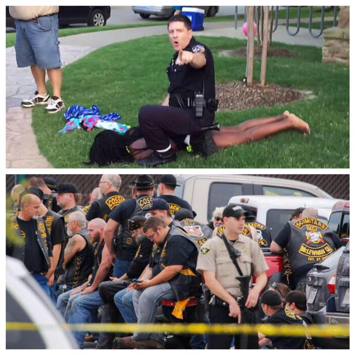 In what world are both of these accepted? Ours. #McKinney http://t.co/kXAQ5jVoPt