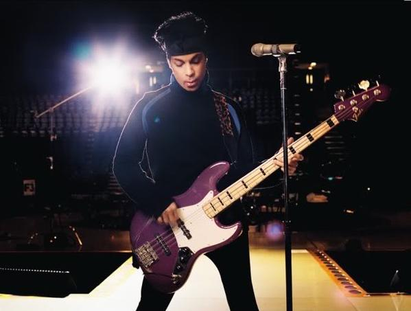 Happy Birthday to Prince.  You need to see his purple badness lay down a bass groove: