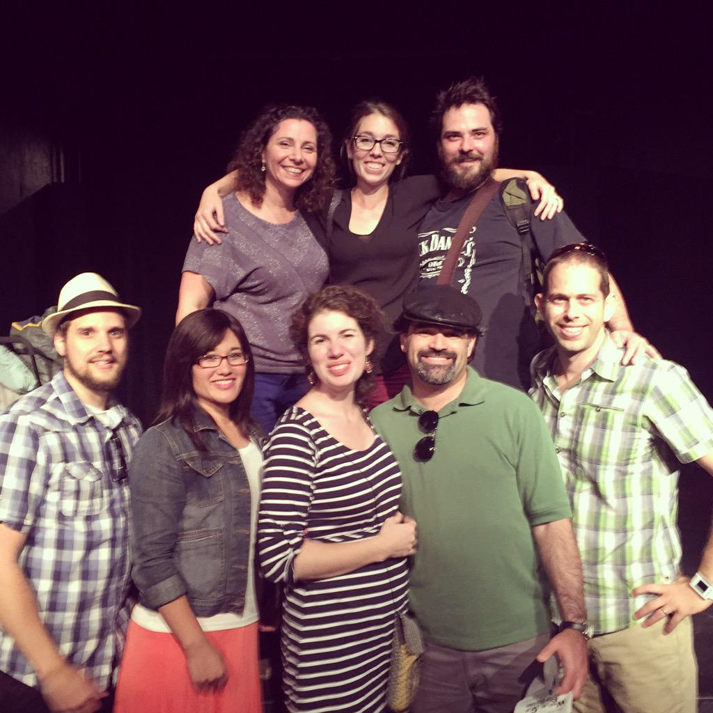 Watched @sean_topps in What Be G*d Is Blessing with @shirpri @CTopps @Shmueli4 @mamalites at the #HFF15 #LATHTR http://t.co/HoREEkGeSw