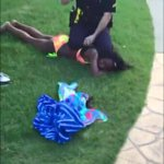 RT @NVisionMarketin: Every Time I see the video of the McKinney TX cop slam that girl down on her head & sit on her head it PISSES me off h…