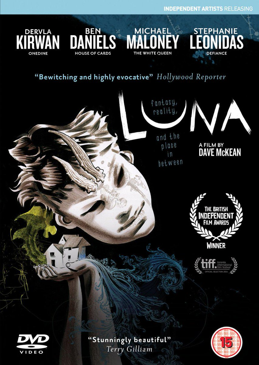 Luna dvd available from Amazon UK now. @michaelamaloney @BenDanielsFiles @bendanielsss @StephLeonidas @dervlaK http://t.co/iUHrwcSS5a