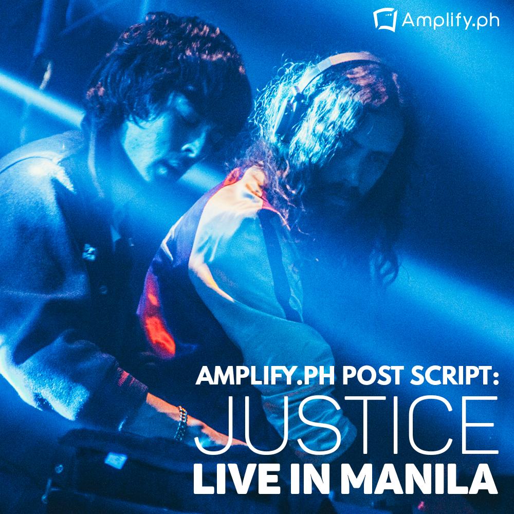 Justice Live in Manila Justice Live in Manila
